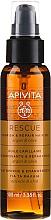 Parfumuri și produse cosmetice Ulei cu argan și măsline pentru regenerarea și nutriția părului - Apivita Rescue Hair Oil With Argan Oil & Olive