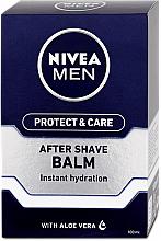 Parfumuri și produse cosmetice Balsam hidratant după ras - Nivea Men Prtotect & Care Moisturizing After Shave Balm