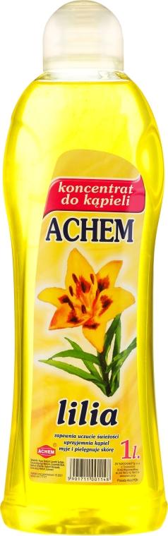 """Concentrat lichid pentru baie """"Crini"""" - Achem Concentrated Bubble Bath Lily"""