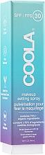 Parfumuri și produse cosmetice Spray pentru fixarea machiajului - Coola Face Makeup Setting Spray SPF 30