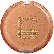 Parfumuri și produse cosmetice Pudră de față - Rimmel Sunshimmer Maxi Bronzer