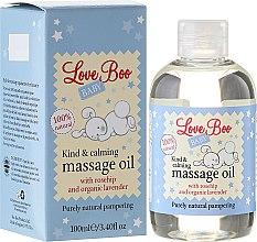 Ulei de masaj pentru copii - Love Boo Baby Kind & Calming Massage Oil — Imagine N1