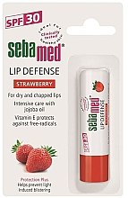 Balsam de buze - Sebamed Lip Defense Stick SPF30 Strawberry — Imagine N3