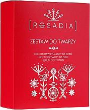 Parfumuri și produse cosmetice Set - Rosadia (cr/2x50ml + ser/30ml)