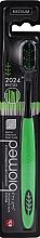 Parfumuri și produse cosmetice Periuță de dinți - Biomed 2024 Black Medium Toothbrush