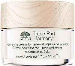 Parfumuri și produse cosmetice Cremă hidratantă de față - Origins Three Part Harmony Nourishing Cream