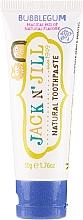 Parfumuri și produse cosmetice Pastă de dinți cu aromă de gumă de mestecat, pentru copii - Jack N' Jill