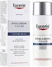 Parfumuri și produse cosmetice Cremă hidratantă pentru față - Eucerin Hyal-Urea Night Creme