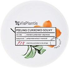 """Parfumuri și produse cosmetice Peeling de corp """"Ceai Mate și ulei de mono"""" - Vis Plantis Sugar & Salt Body Scrub"""