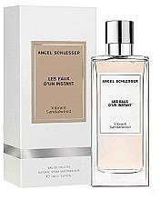 Parfumuri și produse cosmetice Angel Schlesser Les Eaux d'un Instant Vibrant Sandalwood - Apă de toaletă