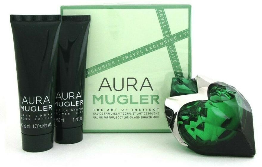 Mugler Aura Mugler - Set (edp/50ml + b/lot/50ml + sh/gel/50ml) — Imagine N1