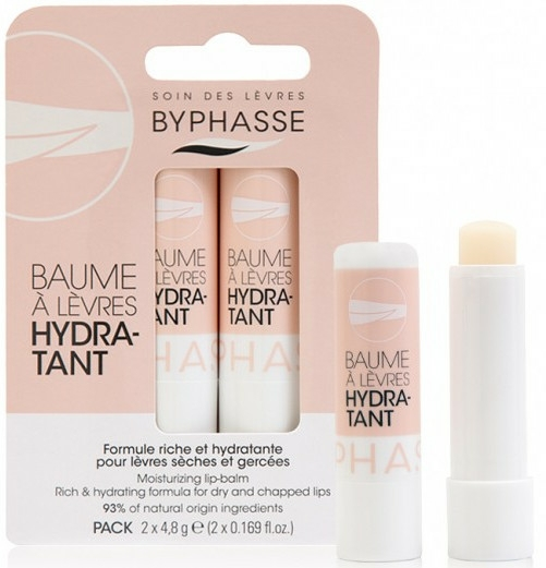 Balsam de buze - Byphasse Moisturizing Lip-Balm