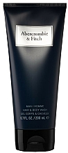 Parfumuri și produse cosmetice Abercrombie & Fitch First Instinct Blue - Gel de duș
