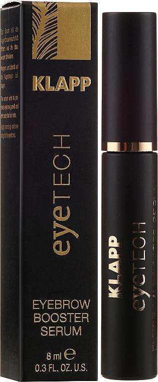 Ser pentru sprâncene - Klapp Eyetech Eyebrow Booster Serum — Imagine N1