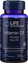 Parfumuri și produse cosmetice Vitamina D3, capsule - Life Extension Vitamin D3