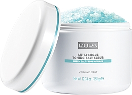 Parfumuri și produse cosmetice Scrub salin, tonifiant - Pupa Home Spa Anti-Fatigue Toning Salt Scrub