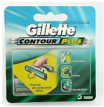 Parfumuri și produse cosmetice Casete de rezervă pentru aparat de ras - Gillette Contour Plus