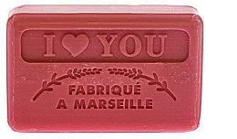 """Parfumuri și produse cosmetice Săpun de Marsilia """"Te iubesc"""" - Foufour Savonnette Marseillaise I Love You"""