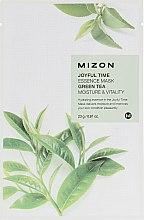 Parfumuri și produse cosmetice Mască folie cu extract de ceai verde - Mizon Joyful Time Green Tea Essence Mask