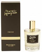 Parfumuri și produse cosmetice Spray aromat pentru casă - Teatro Fragranze Uniche Spray Sweet Vanilla