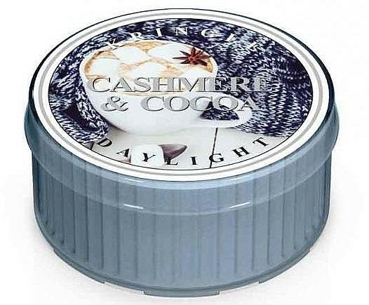 Lumânare de ceai - Kringle Candle Daylight Cashmere & Cocoa — Imagine N1