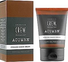 Parfumuri și produse cosmetice Cremă de ras cu efect de răcire - American Crew Acumen Cooling Shave Cream