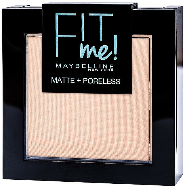 Pudră de față - Maybelline New York Fit me Matte&Poreless PWD