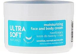 Parfumuri și produse cosmetice Cremă hidratantă pentru față și corp - Ultra Soft Naturals Moisturising Face and Body Cream