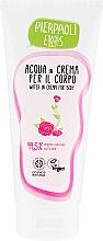 Parfumuri și produse cosmetice Cremă hidratantă cu apă organică de trandafiri pentru corp - Ekos Personal Care