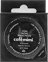 Parfumuri și produse cosmetice Mască-gel pentru față - Cafe Mimi Coal Mask