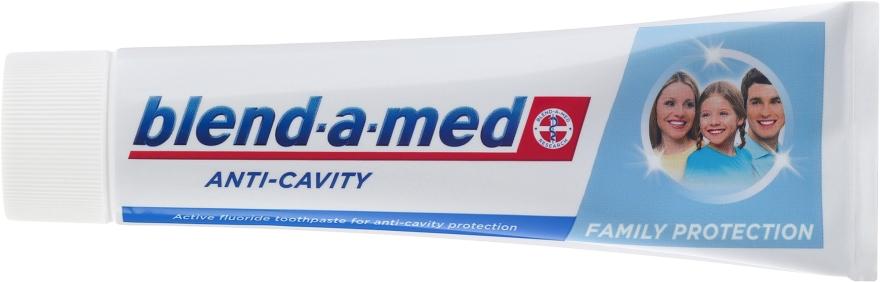 """Pastă de dinți pentru toată familia """"Anti-carii"""" - Blend-a-med Anti-Cavity Family Protect Toothpaste — Imagine N2"""