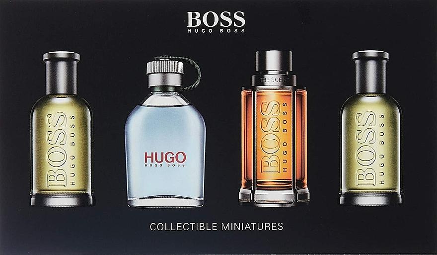 Hugo Boss Collectible Miniatures Set - Set (edt/mini/4*5ml) — Imagine N1
