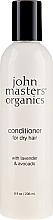 "Parfumuri și produse cosmetice Balsam pentru păr uscat ""Lavandă și Avocado"" - John Masters Organics Conditioner For Dry Hair Lavender & Avocado"