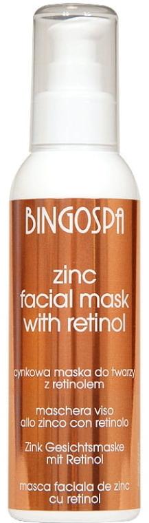 Mască de zinc pentru față - BingoSpa — Imagine N1