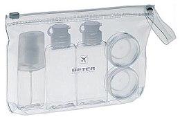 Parfumuri și produse cosmetice Set recipiente din plastic pentru călătorii, 5 bucăți - Beter Air Kit