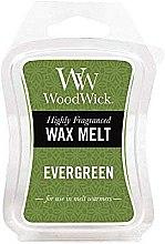Parfumuri și produse cosmetice Ceară aromată - WoodWick Wax Melt Evergreen