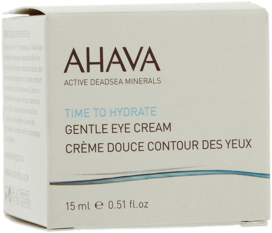 Cremă pentru conturul ochilor - Ahava Time To Hydrate Gentle Eye — Imagine N3