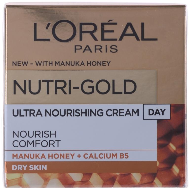 Cremă de zi pentru hidratarea tenului - L'Oreal Paris Nutri Gold Day Cream