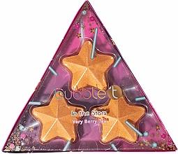 Parfumuri și produse cosmetice Set bombe efervescente de baie - Bubble T Star Bath Fizzers Partea Lights (bath/bomb/3x50g)