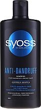 Parfumuri și produse cosmetice Șampon pentru păr predispus la mătreață - Syoss Anti-Dandruff Centella Asiatica Shampoo