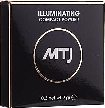Parfumuri și produse cosmetice Pudră iluminantă pentru față - MTJ Cosmetics Illuminating Compact Powder
