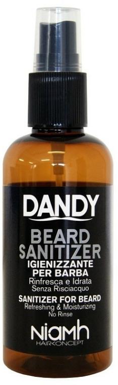 Spray dezinfectant pentru barbă și mustăți - Niamh Hairconcept Dandy Beard Sanitizer Refreshing & Moisturizing