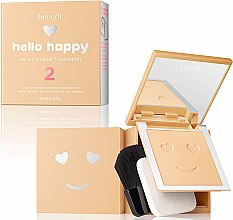 Parfumuri și produse cosmetice Pudră-fond de ten - Benefit Hello Happy Velvet Powder Foundation