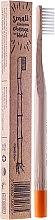 Parfumuri și produse cosmetice Periuță de dinți moale din bambus (Orange) - Mohani Toothbrush