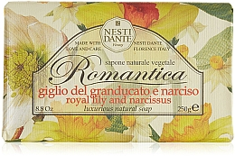 "Parfumuri și produse cosmetice Săpun ""Lily și narcise"" - Nesti Dante Romantica Tuscan Lily&Narcissus Soap"