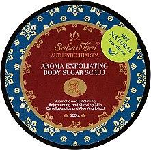Parfumuri și produse cosmetice Scrub cu extract de centella și Aloe Vera de corp - Sabai Thai Jasmine Aroma Exfoliating Body Sugar Scrub