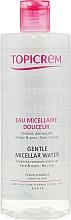 Parfumuri și produse cosmetice Apă micelară pentru îndepărtarea machiajului - Topicrem Gentle Micellar Water Face & Eyes