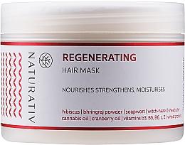 """Parfumuri și produse cosmetice Mască de păr """"Restaurare"""" - Naturativ Regeneration Mask"""
