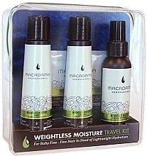 Parfumuri și produse cosmetice Set - Macadamia Professional Weightless Moisture Travel Kit (shm/100ml + cond/100ml + cond/100ml + mask/30ml)