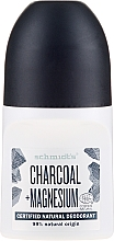 """Parfumuri și produse cosmetice Deodorant roll-on """"Cărbune"""" - Schmidt's Carbon + Magnesium Deo Roll-On"""